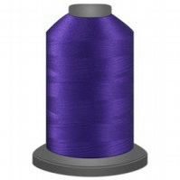 Raven purple thread, glide trilobal polyester no 40, Tex 27, sewing thread, quil