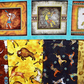 southwestern art bundle, Quilting fabric bundle, cotton fabric