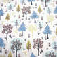 bear fabric, grizzly bear fabric, woodland fabric, price by the half metre