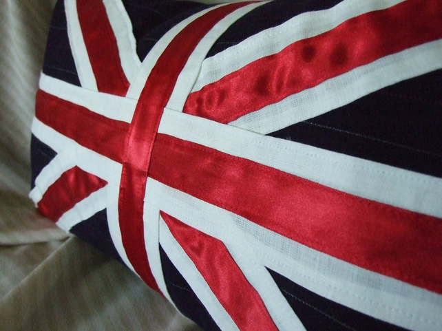 Handmade Union Jack Cushion