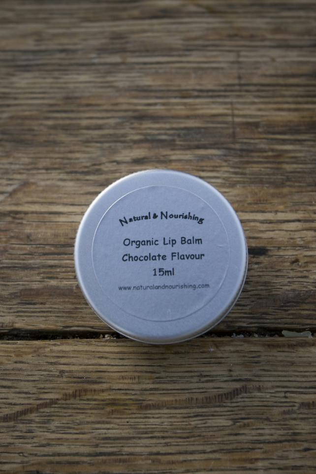 Organic Lip Balms - 5 Flavours - 15ml