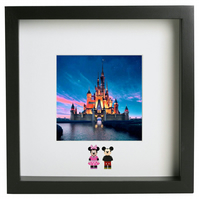 Disney 3D Frame Mickey Minnie Mouse Donald Daisy Duck double figure present gift