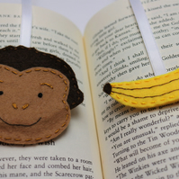 Monkey bookmark