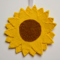 Sunflower hanging decoration