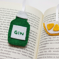 Gin bookmark