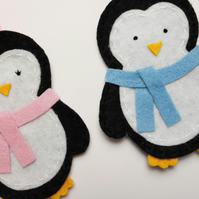 Penguin decorations