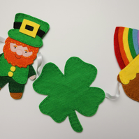 St Patrick's day bunting
