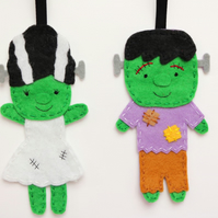 Frankenstein hanging decorations