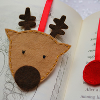 Reindeer bookmark