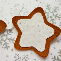 Christmas cookie bunting
