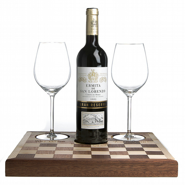 Handmade Wine and Cheese Board, Rectangular Wine Board, Red Wine Serving Board,
