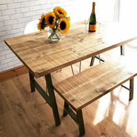 dining table and bench package