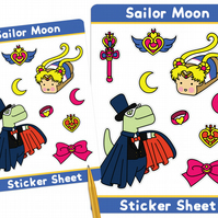 Sailor Moon Loof & Timmy Stickers Kawaii Stickers Sailor Moon Stickers Cosplay