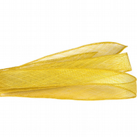 Sinamay Shush Trim for Fascinators and Millinery, 4cm (1.5 inches) wide, 1.5 met