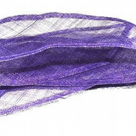 Sinamay Shush Trim for Fascinators and Millinery, 9cm (3.5 inches) wide, 1.5 met