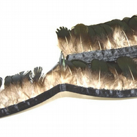 Lady Amherst Feather Fringe for Fascinators and Millinery - FR005