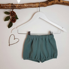 Winter Blooms, bloomers, unisex bloomers, shorts, girls bloomers, boys bloomers