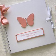 Personalised 8x8 Memories Butterfly Memory Book Scrapbook Photo Album Gift
