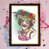 Marsha P Johnson Watercolour Print