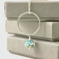 Hoop Charm Necklace