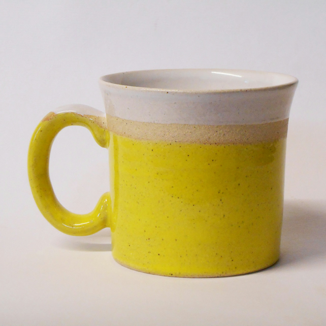 Smaller Yellow Coffee Cup.