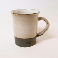 "Mug Wheel thrown black clay ""Texas Tea"" Ceramic.."