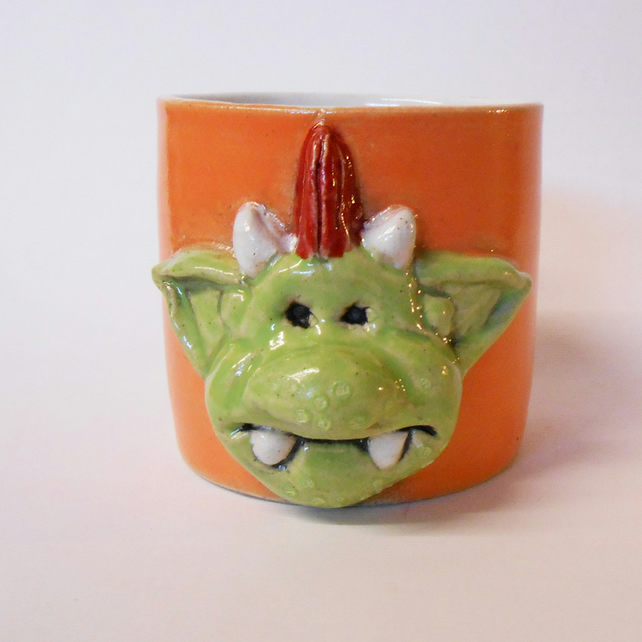 Fungus the Bogeyman Orange Mug.