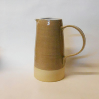 Stunning Larger Grey Water Pitcher Jug.