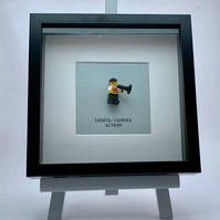Film DirectorProducer LEGO mini Figure frame