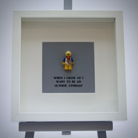 When I grow up I want to be An Olympic Gymnast LEGO frame
