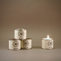 small paint pot 55g Eco soya candle in Hangover cure