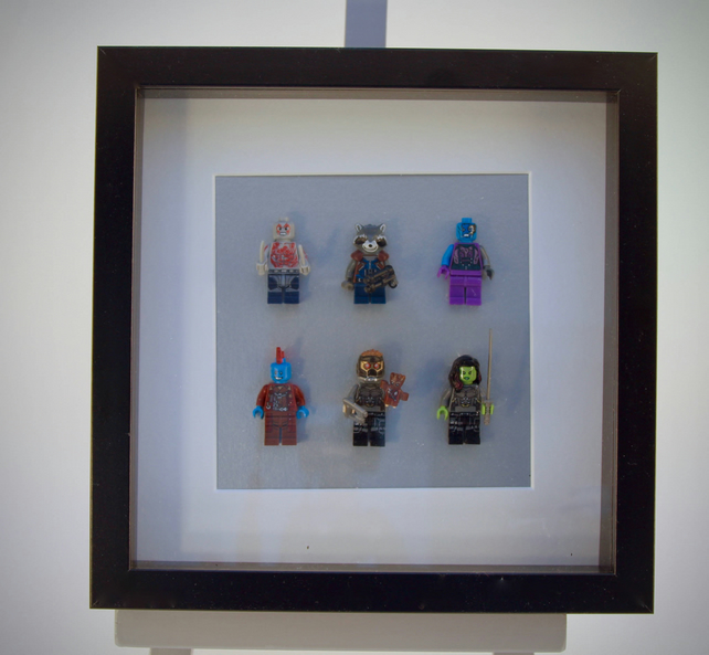 Guardians of the Galaxy  mini Figures frame
