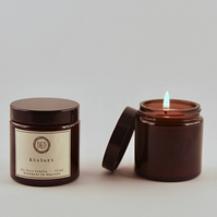 Eco soya scented candle - Rhubarb 120 ml