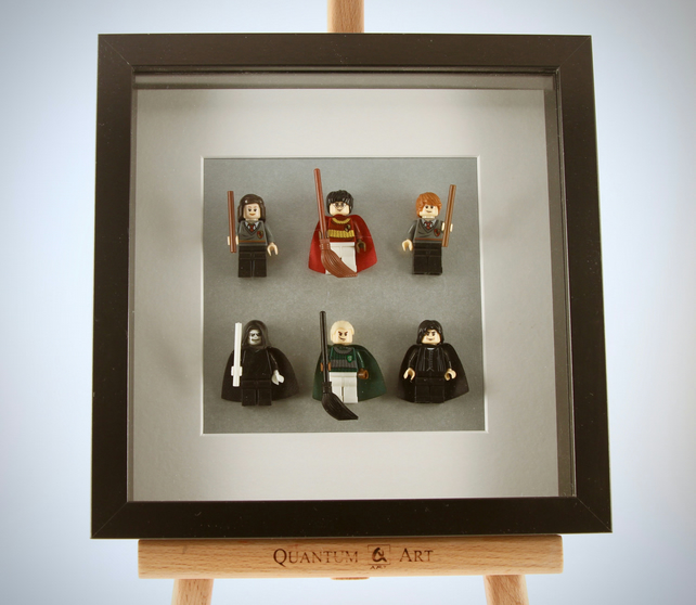 Harry Potter Custom Mini Figure Framed Picture
