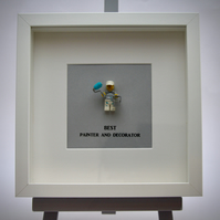 Best Painter and Decorator LEGO mini Figure frame