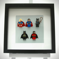 DC Comics Super Hero mini Figure frame