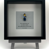 Cliff Richard mini Figure frame.
