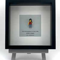 Amy Winehouse mini Figure frame.