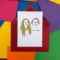 The Princess Bride 'As You Wish' Card