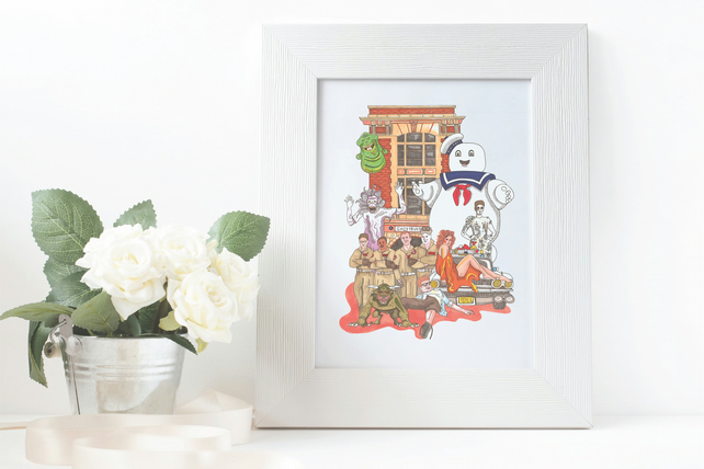 Ghostbusters A5 Print