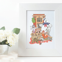 Ghostbusters A4 Print