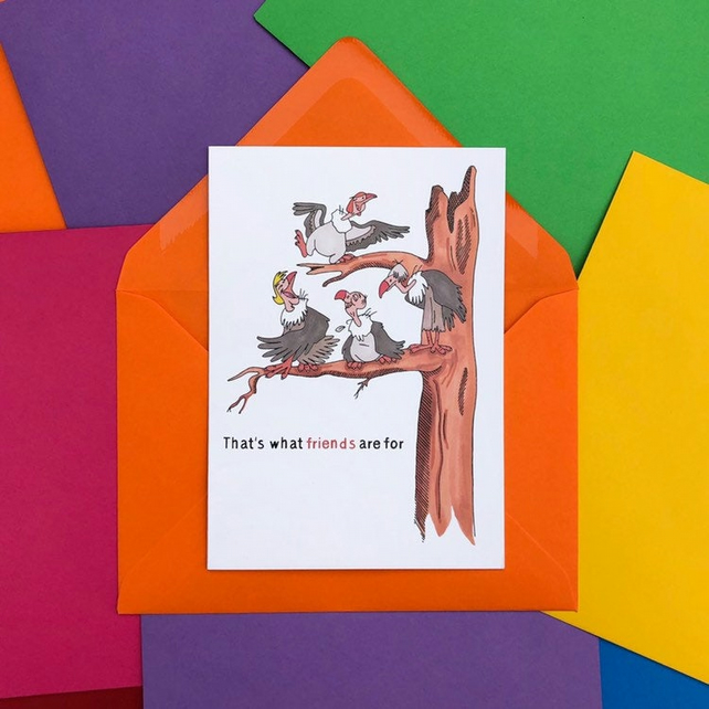 Vultures Jungle Book Charity Card