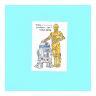 C3PO & R2D2 from Star Wars - 10.5cm Sticker