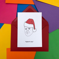 Die Hard 'Yippie Ki Yay' Christmas Card