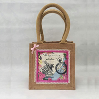 Rabbit Alice in Wonderland Mini Shopper