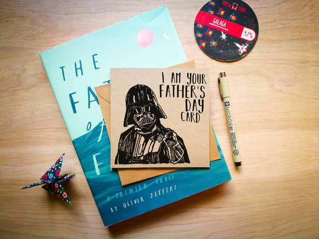 I am your Father's Day Card, Darth Vader Card