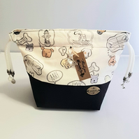 Small Dreamy dog project bags