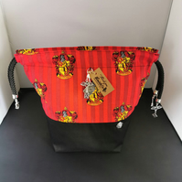 Harrypotter Themed house bags Gryffindor Medium