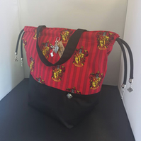 Harrypotter Themed house bags Gryffindor Large