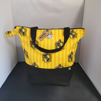 Large Harrypotter Themed house bags Hufflepuff.